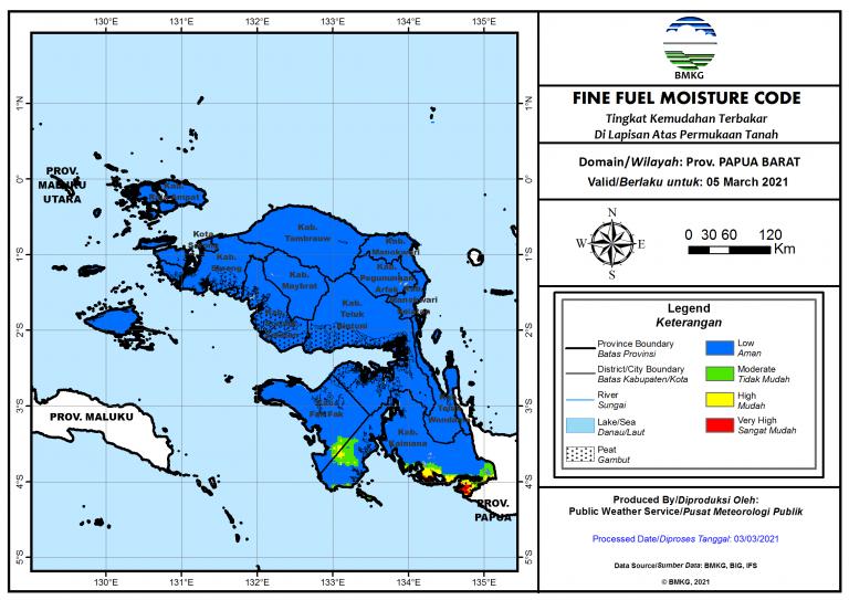 05 Maret 2021 (Papua Barat)
