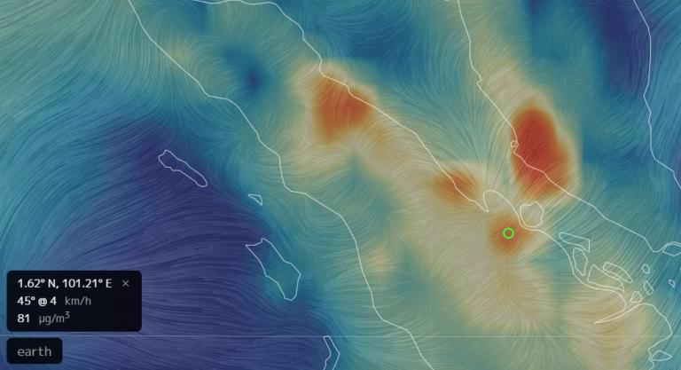 PM 2.5 Mencapai 81 µg/m3 berada di atas NAB 65 µg/m3